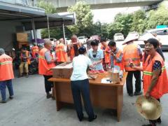 夏季送清凉及交通安全宣传志愿者活动