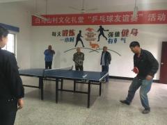 乒乓球友谊活动